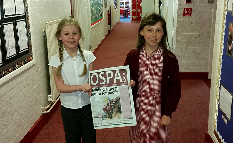 Pupil Voice Newspaper Day